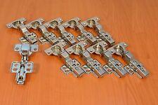 10x Topfband Mittelanschlag mit hydraulisch Dämpfer Scharnier Topfscharniere