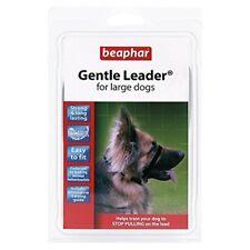 Beaphar Gentle Leader Large Black - Head Collar Dog Harness Small Medium