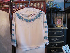 JUICY COUTURE beaded blouse M