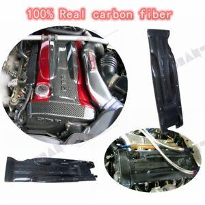 1PC CARBON RB26 DETT SPARK PLUG COVER FOR SKYLINE R32 R33 R34 BNR32 BNR33 BNR34