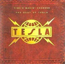 Time's Makin Changes: The Best of Tesla by Tesla (CD, Nov-1995, Geffen)