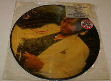 Michael Jackson Thriller Picture Disc 8E838867 LP Vinyl NM- Cover VG+ 1983 Hype