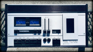 Vintage Tandberg TCD 310 MkII Cassette Deck - Nice