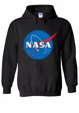 NASA Space Rocket Moon Astronaut Men Women Unisex Top Hoodie Sweatshirt 1500