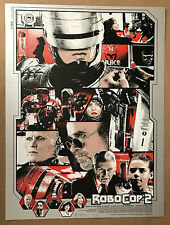 Kyle Crawford Electric Zombie ROBOCOP 2 Enforcer Movie Poster Print Weller Stout