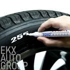 Waterproof Permanent Paint Marker Pen Ink Car Tyre Tire Tread Rubber Metal -TOYO
