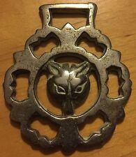 Brass Harness Decoration Fox Head #5