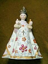 Infant of Prague  Lofton china holy water container  holds 10 oz