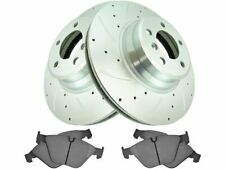 For 2002-2005 BMW 745Li Brake Pad and Rotor Kit Front 85914FS 2003 2004