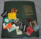 VINTAGE MATCHBOOK COVER COLLECTION 250+ HOTELS MEMORIAL UNIONS RESTAURANTS+ MORE