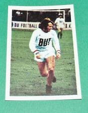 N°106 GILBERT GRESS AGEDUCATIFS FOOTBALL 1971-1972 OLYMPIQUE MARSEILLE OM PANINI