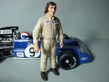 Jackie Stewart 1/18 painted figure par VROOM POUR EXOTO TYRRELL F1