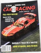 MODEL CAR RACING MAGAZINE #29 - SCALEXTRIC , FLY , SCX , NINCO 1/32 SLOT CARS