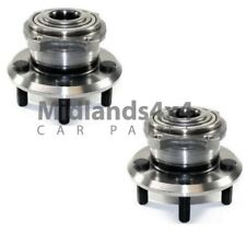 For CHRYSLER 300C 04-12 REAR AXLE WHEEL HUB BEARINGS COMPLETE ASSEMBLY PAIR