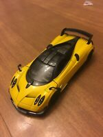 Kinsmart 1/38 Scale 2016 Pagani Huayra BC Diecast Model Toy 5400D Yellow