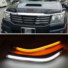 LED Headlight DRL Daytime Running Light Turn Signal for Toyota Hilux VIGO 12-14