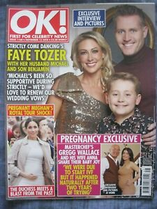 OK! MAGAZINE. Issue 1160. November 13 2018.Faye Tozer, Meghan, Michael Buble.