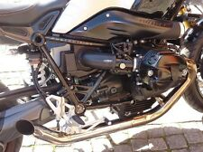 BMW R NINE T MASS MASSMOTO 2 IN 2 HOTROD COMPLETE EXHAUST SILENCER SYSTEM
