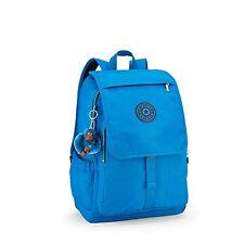 BNWT Kipling HARUKO Laptop/Backpack BLUE GREEN MIX SPF 2017 RRP £109