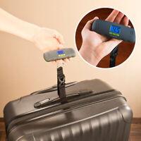 Kofferwaage digital, Gepäckwaage zum Mitnehmen, Mobile Kofferwaage, Taschenwaage