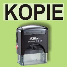 KOPIE Shiny Printer Schwarz S-842 Büro Stempel Kissen schwarz