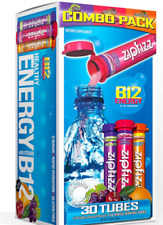 Healthy Energy Drink Mix Variety Pack with B12 and Multi Vitamins, 30 Count