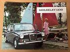 WOLSELEY 1100 SALOON 1966 UK Mkt Sales Brochure - H&E 6551/B 5/66
