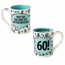 Our Name is Mud A27099 Super Duper 60 Birthday Mug