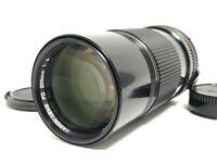 MINT CANON New FD 200mm f/4 SLR 35mm Film Camera MF Lens from Japan #11752