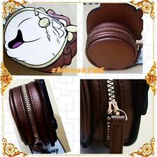 Primark LADIES Disney Beauty And The Beast Cogsworth Clock Chip coin purse BNWT