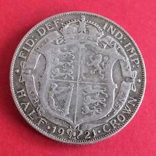 1921 George V Silver Half Crown