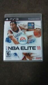 Nba elite 11 case ps3 extremely rare! NEW DESCRIPTION! RAREST TITLE ON EARTH