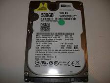 """500GB Western Digital AV, WD5000BUCT, 2,5"""" (6,35cm), 16MB"""