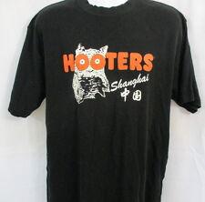 Hooters Shanghai T-Shirt, S/S, XXL, Black & Orange, EXCELLENT CONDITION!