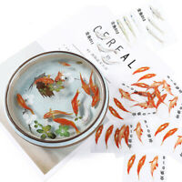 3Pcs/Set Fish Resin Stickers Paintings Mold DIY Handmade Jewelry Craft Making Hu