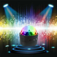 Portable 9W LED Colorful Disco DJ Ball Light Bluetooth Speaker USB Music Player