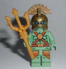 s ATLANTIS Lego Portal Emperor w/Trident NEW READ Authentic Lego Parts (kc)