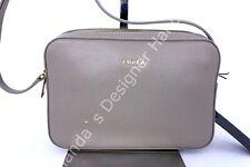 NWT Furla Lilli XL Double Zip Leather Crossbody Camera Bag Sabbia $328