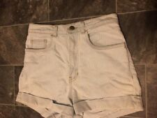 Ladies Size 10 American Apparel High Waisted Denim Shorts Worn Once
