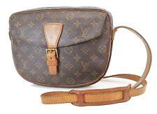 Authentic LOUIS VUITTON Jeune Fille GM Monogram Crossbody Shoulder Bag #36500