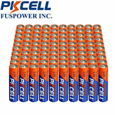 240x Aaa Lr03 3A 1.5V Alkaline Single Use Batteries Pkcell Shelf Life 10 years