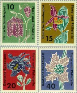 "EBS Germany 1963 International Garden Show ""Flora and Philately"" 392-395 MNH**"