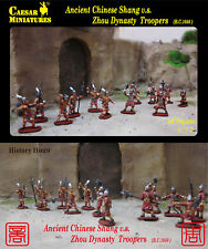 Caesar Miniatures 1/72 Ancient Chinese Shang v.s. Zhou Dynasty Troopers # 029
