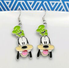 Disney Cartoon Drop Earrings One Pair Goofy Dog