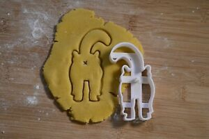 Cat Kitty Butt Funny - Cookie Cutter - Biscuit Cutter - 3 Sizes