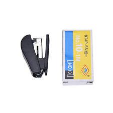 1pc Mini Office Portable Stapler Figure Gun Stationery Book Sewer Stapleshm
