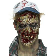 Foam Latex Zombie Face Prosthetic Halloween Mask Fancy Dress Accessory