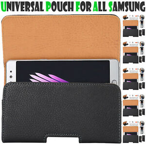 UNI Belt Pouch For All Samsung Galaxy Mobile Leather Case Cover Clip Holder 2020