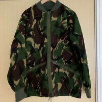 Urban Outfitters Vtg Renewal Camo Camouflage Army Fleece Bomber Jacket Zip-up