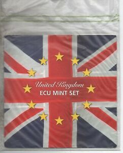 United Kingdom ECU Mint Set 1992 UNC MINT